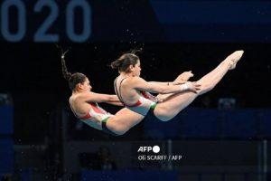 Las clavadista mexicanas Alejandra Orozco y Gabriela Agúndez clasificaron este miércoles a las semifinales en la plataforma de 10 metros