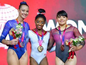Alexa Moreno se posicionó en el cuarto lugar durante la prueba final de salto celebrada este domingo en Juegos Olímpicos de Tokio.