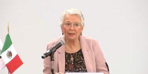 Olga Sánchez Cordero deja la SeGob