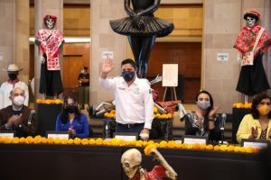 Diversas dependencias se organizan para traer a la capital y Soledad, la mística festividad del Xantolo, que se celebra en la Huasteca Potosina.