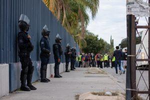 El operativo de seguridad de este domingo fue rediseñado, acción que incluyó la coordinación con la Secretaría de Seguridad Pública del Estad