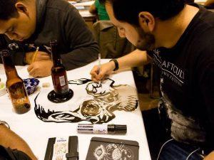 SECULT invita al público en general a la primera edición de Drink and Draw Día de Muertos, un evento nocturno que se llevará a cabo el jueves 28 de octubre
