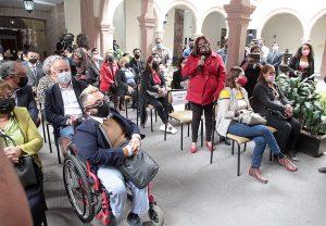 Firma de convenio para la consulta pública a personas con discapacidad..
