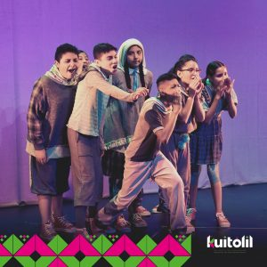 Continúan las funciones del festival de teatro Kuitólil promovido por el Gobierno del Estado, la SECULT a través del CEART y el Teatro Polivalente